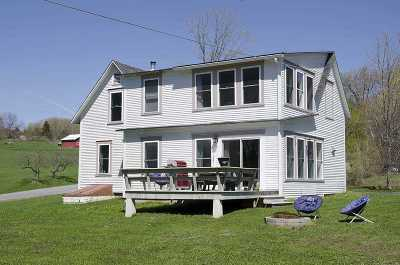 East Montpelier Single Family Home For Sale: 30 & 45 Cutler Heights