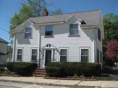 Nashua Single Family Home For Sale: 15 Mount Pleasant Street