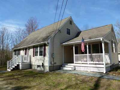Single Family Home For Sale: 300 Center Harbor Neck Road