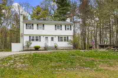 Hooksett Single Family Home Active Under Contract: 130 Hackett Hill Road #B