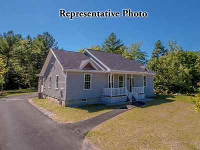 Conway Single Family Home For Sale: Lot 21 Pemigewasset Drive