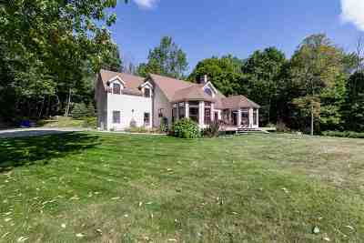 Goffstown Single Family Home For Sale: 961 Back Mountain Road