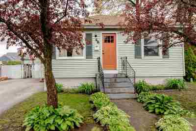 Manchester Single Family Home Active Under Contract: 48 Brunelle Avenue