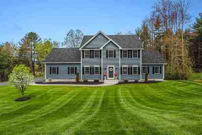 Hooksett Single Family Home For Sale: 10 Post Road