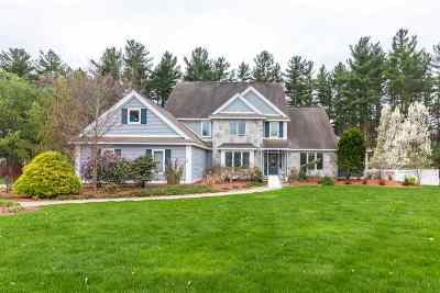 Bedford, Goffstown, Manchester, Nashua, Canterbury, Concord, Danbury, Hooksett, New London, Northfield Single Family Home For Sale: 6 Crestwood Lane