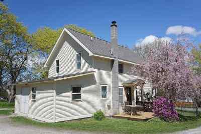 Shelburne Single Family Home Active Under Contract: 204 Mount Philo Road