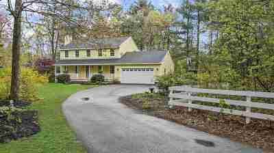 Amherst Single Family Home Active Under Contract: 24 Tamarack Lane