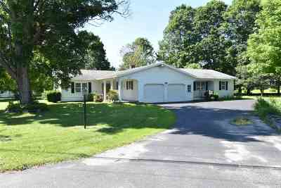 Poultney Single Family Home For Sale: 1599 East Main Street