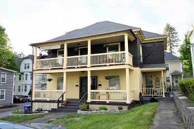 Manchester Multi Family Home Active Under Contract: 366 Lowell Street