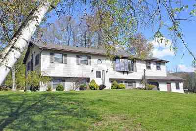 Rutland, Rutland City Single Family Home Active Under Contract: 4 Hilltop Terrace