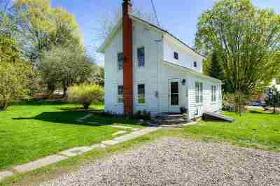 Pawlet Single Family Home Active Under Contract: 2888 Vermont 153 Route