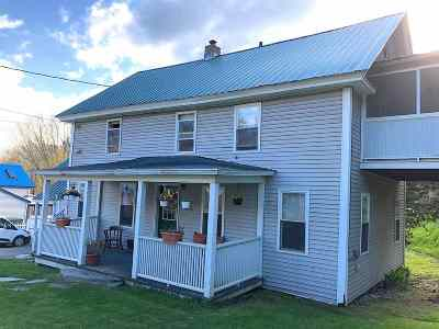 Morristown Multi Family Home Active Under Contract: 32 Randolph Road