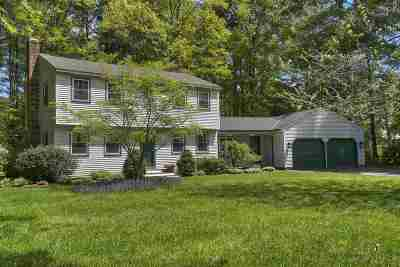 Merrimack Single Family Home Active Under Contract: 4 Bryce Drive