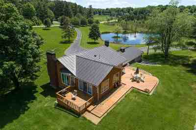 East Montpelier Single Family Home For Sale: 1693 County Road