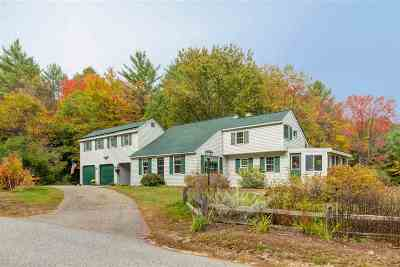 Merrimack County Single Family Home For Sale: 42 Cross Hill Road