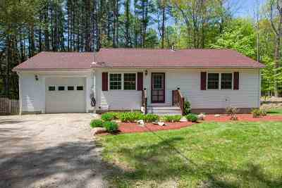 Merrimack County Single Family Home For Sale: 594 Gulf Road