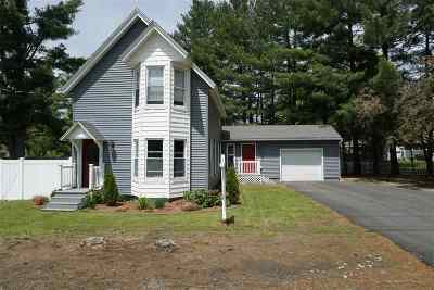 Merrimack County Single Family Home For Sale: 3 Branch Turnpike