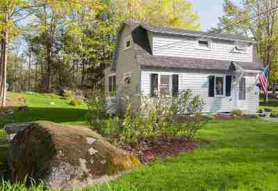 Merrimack County Single Family Home For Sale: 46 Wilmot Center Road
