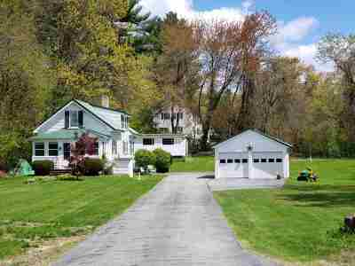 Hooksett Single Family Home Active Under Contract: 564 Arah Street