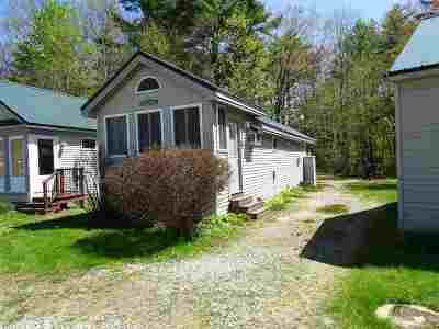 Holderness Single Family Home For Sale: 1121 Us Route 3 Highway #10