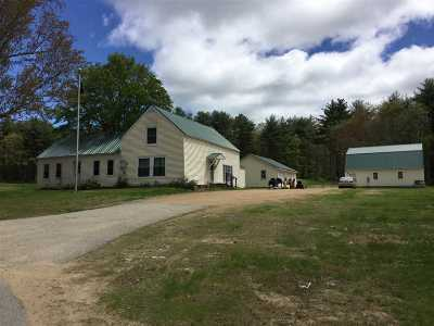 Belknap County Single Family Home For Sale: 198 Old Wolfeboro Road