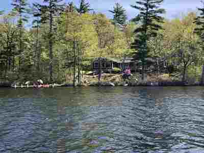 Moultonborough Single Family Home For Sale: 16 Gansy Island Island