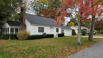 Manchester Single Family Home For Sale: 162 W Haven Road