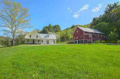Orford Single Family Home For Sale: 1048 Route 10