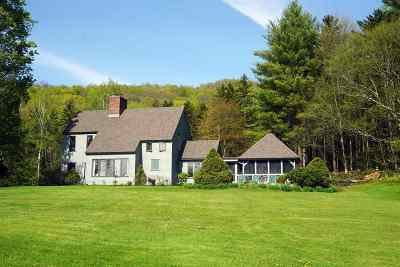 Chittenden Single Family Home Active Under Contract: 26 German Hill Farm Road