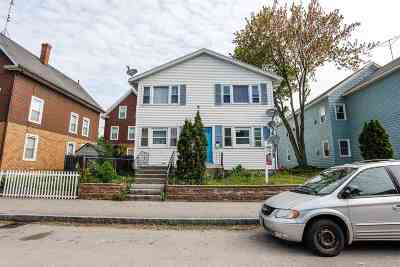 Manchester Multi Family Home For Sale: 400 Cedar Street