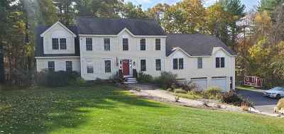 Hooksett Single Family Home Active Under Contract: 25 Barberry Street