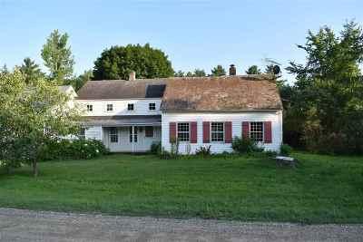 Salisbury Single Family Home For Sale: 392 Beaver Pond Road