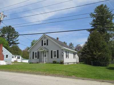 Littleton NH Single Family Home Active Under Contract: $160,000