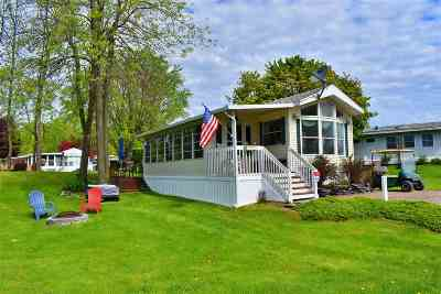 South Hero Single Family Home For Sale: Ic059 Island Circle