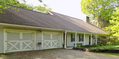 Stowe Single Family Home Active Under Contract: 1444 Upper Hollow Road