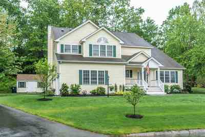Nashua Single Family Home Active Under Contract: 7 Rainbow Drive
