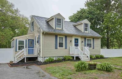 Salem Single Family Home Active Under Contract: 108 Lawrence Road