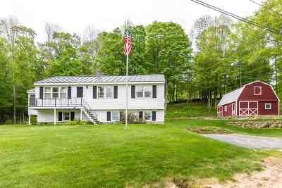 Pittsfield Single Family Home For Sale: 132 Mountain Road