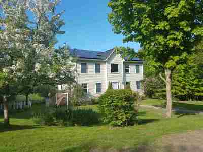 Essex Single Family Home For Sale: 253 Brigham Hill Road