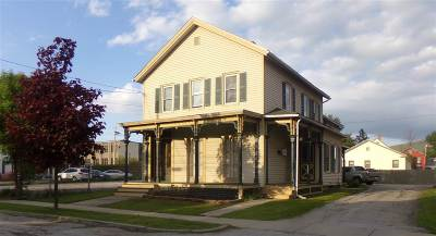 Rutland, Rutland City Multi Family Home For Sale: 40 Summer Street