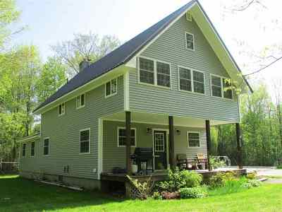 Alburgh Single Family Home For Sale: 149 Wood Lane