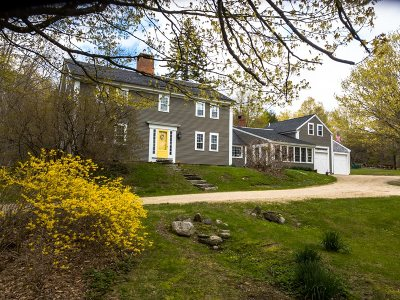 Sandwich Single Family Home For Sale: 711 Mt. Israel Road Road