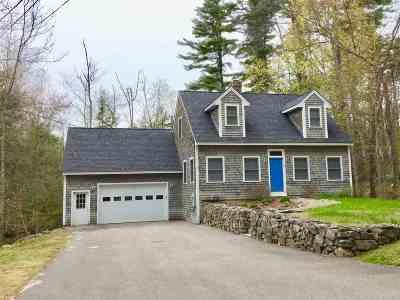Tuftonboro Single Family Home Active Under Contract: 5 Craig Way