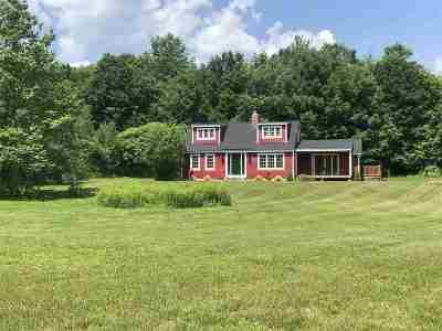 Henniker Single Family Home For Sale: 520 Gulf Road