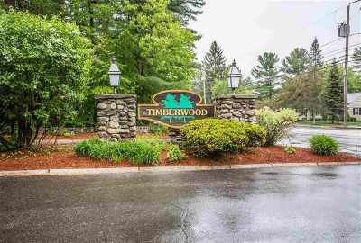 Goffstown Condo/Townhouse Active Under Contract: 3 Timberwood Drive #306