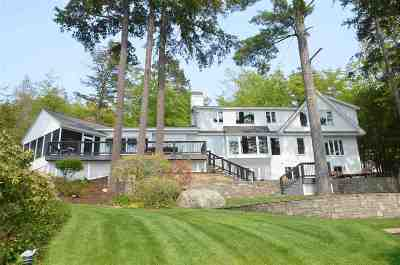 Gilford Single Family Home For Sale: 252 Edgewater Drive