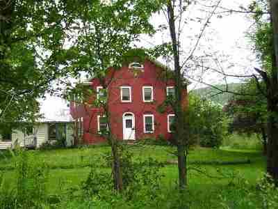 Cambridge Single Family Home For Sale: 8147 15 Route