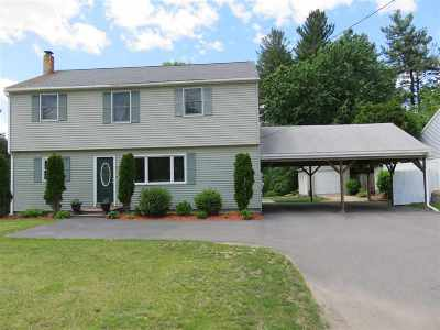 Nashua Single Family Home Active Under Contract: 157 East Dunstable Road Road