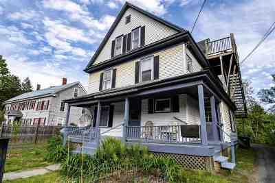 Montpelier Multi Family Home For Sale: 235 Elm Street
