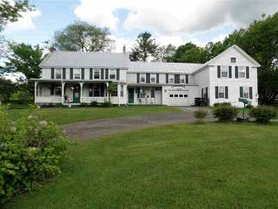 East Montpelier Single Family Home Active Under Contract: 2641 Us Route 2 Road